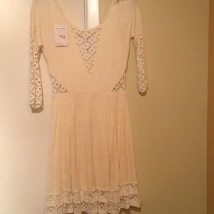 Free people cream dress